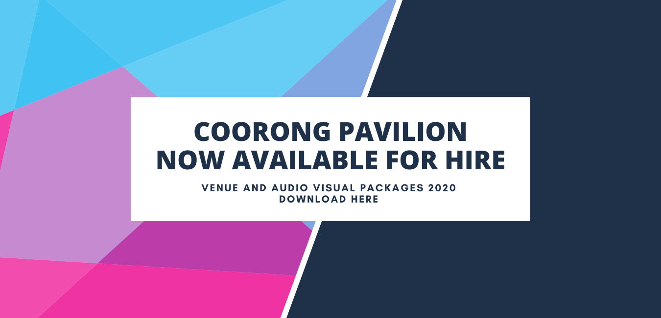 Coorong Pavilion Now Available For Hire