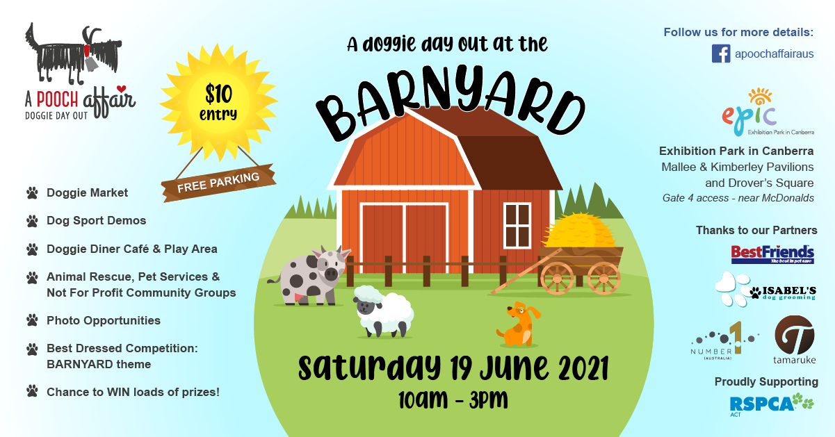 A Doggie Day Out at the Barnyard WITH PARTNERS