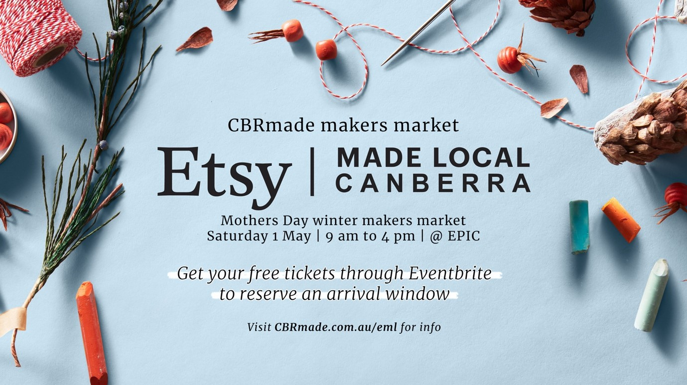 ETSY - Canberra made local