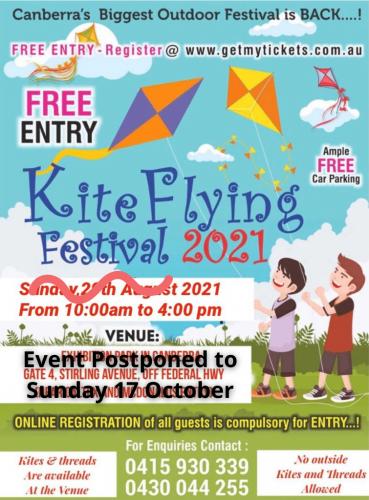 Kite Flying 17 Oct 2021