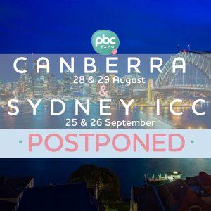 PBC 2021 - Canberra postponed